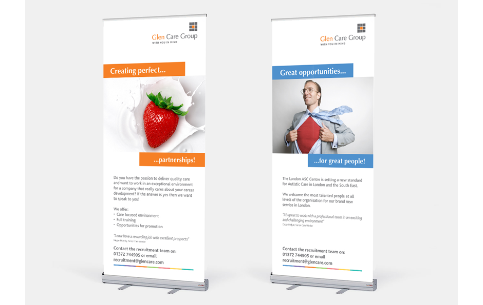 Creative Pop up Banner Stands