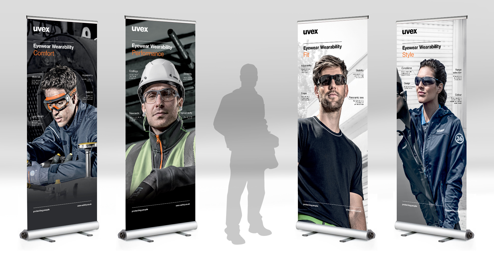 Pop up exhibition banners